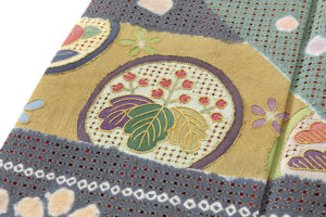 京屋林蔵製 総刺繡訪問着セット(訪問着・袋帯)のサブ5画像