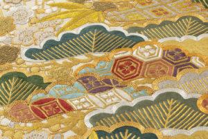京屋林蔵製 総刺繡訪問着セット(訪問着・袋帯)のサブ8画像