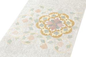 川島織物製 プラチナ箔袋帯のサブ1画像