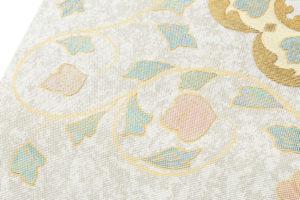 川島織物製 プラチナ箔袋帯のサブ3画像