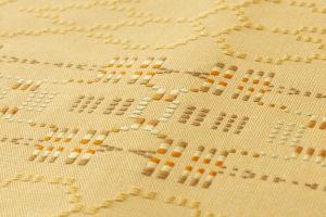 人間国宝 宮平初子作 首里花織紬名古屋帯のサブ4画像