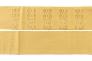人間国宝 宮平初子作 首里花織紬名古屋帯のサブ5画像