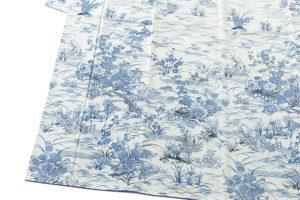 大澤澤蔵作 本藍染訪問着のサブ2画像