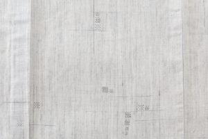 野村半平作 本場夏結城紬 着物のサブ4画像