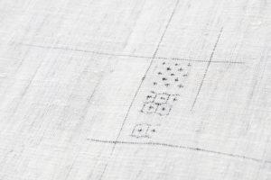 野村半平作 本場夏結城紬 着物のサブ5画像
