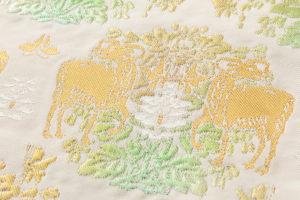 龍村平蔵製 袋帯「羊花堆朱錦」のサブ2画像
