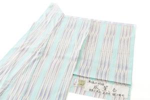 樋口隆司作 湯揉み絹縮地 「風薫る」のサブ1画像