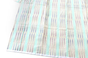 樋口隆司作 湯揉み絹縮地 「風薫る」のサブ2画像