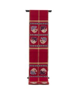 龍村平蔵製 袋帯「甲比丹孔雀」 のメイン画像