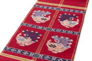 龍村平蔵製 袋帯「甲比丹孔雀」 のサブ1画像
