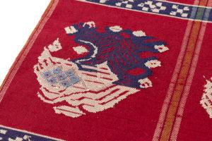 龍村平蔵製 袋帯「甲比丹孔雀」 のサブ3画像