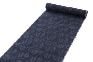 結城紬 着尺 160亀甲総絣 笹蔓紋のサブ1画像