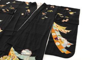 舞妓衣裳 裾引き 熨斗目柄のサブ2画像