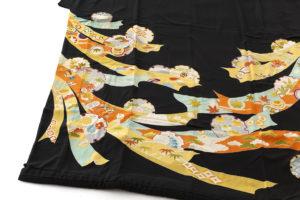 舞妓衣裳 裾引き 熨斗目柄のサブ3画像