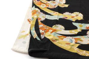 舞妓衣裳 裾引き 熨斗目柄のサブ4画像