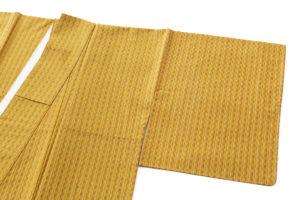 山下めゆ作 本場黄八丈 着物のサブ1画像