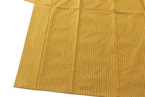山下めゆ作 本場黄八丈 着物のサブ2画像