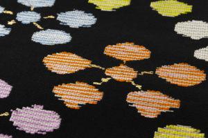 龍村平蔵製 袋帯「絲入利休裂」のサブ3画像