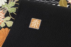 ぎをん齋藤製 縮緬染名古屋帯「献上花」のサブ5画像