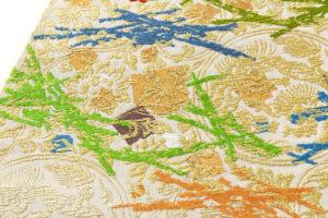 龍村平蔵製 袋帯「可祝獅子文」のサブ2画像