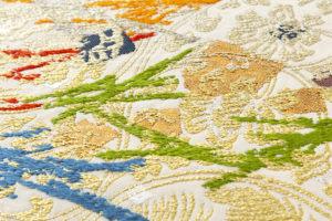 龍村平蔵製 袋帯「可祝獅子文」のサブ3画像