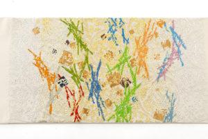 龍村平蔵製 袋帯「可祝獅子文」のサブ4画像