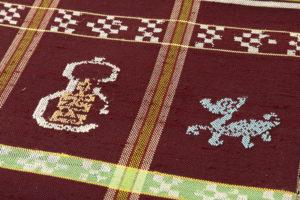 龍村平蔵製 袋帯「甲比丹仙瓢」のサブ3画像