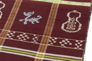 龍村平蔵製 袋帯「甲比丹仙瓢」のサブ2画像
