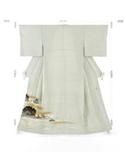 人間国宝 田島比呂子作 色留袖のメイン画像