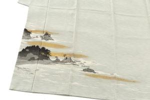 人間国宝 田島比呂子作 色留袖のサブ2画像