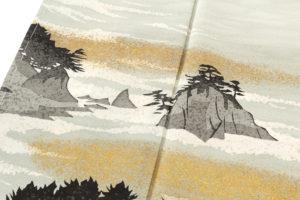 人間国宝 田島比呂子作 色留袖のサブ4画像