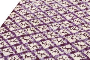 草紫堂製 南部紫根染 紬着尺のサブ2画像