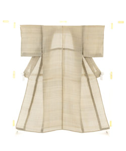 人間国宝 平良敏子作 喜如嘉芭蕉布 着物のメイン画像