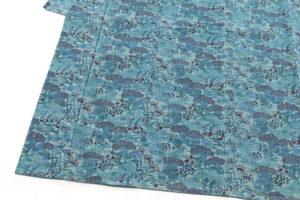 岩井香楠子作 型絵染紬着物「銀河鉄道の夜」のサブ2画像