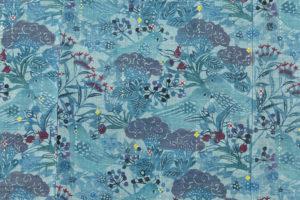 岩井香楠子作 型絵染紬着物「銀河鉄道の夜」のサブ4画像