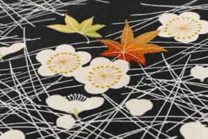 ぎをん齋藤製 塩瀬地染名古屋帯のサブ2画像