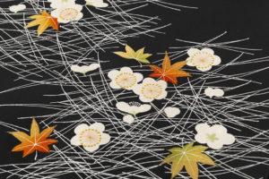 ぎをん齋藤製 塩瀬地染名古屋帯のサブ3画像