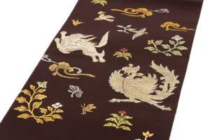 龍村平蔵製 袋帯「木画獅鳳錦」のサブ1画像