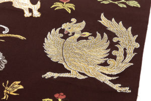 龍村平蔵製 袋帯「木画獅鳳錦」のサブ2画像