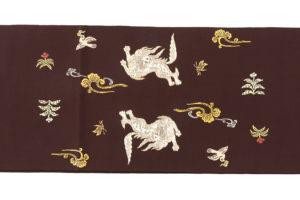龍村平蔵製 袋帯「木画獅鳳錦」のサブ4画像