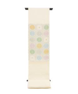 ぎをん齋藤製 袋帯「升目菊」のメイン画像