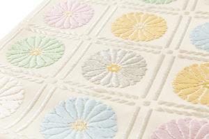 ぎをん齋藤製 袋帯「升目菊」のサブ2画像