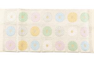 ぎをん齋藤製 袋帯「升目菊」のサブ4画像