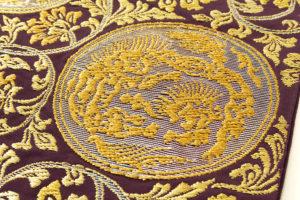 龍村平蔵製 袋帯地「歌仙唐草文」未仕立て品のサブ2画像