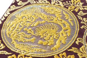 龍村平蔵製 袋帯地「歌仙唐草文」未仕立て品のサブ3画像
