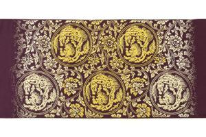 龍村平蔵製 袋帯地「歌仙唐草文」未仕立て品のサブ5画像