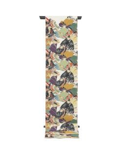川島織物製 本金箔加良錦袋帯「六歌仙」のメイン画像