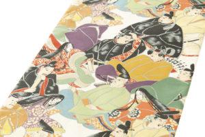 川島織物製 本金箔加良錦袋帯「六歌仙」のサブ1画像