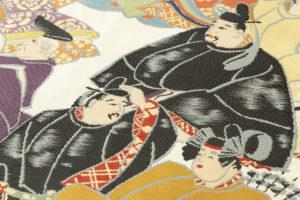 川島織物製 本金箔加良錦袋帯「六歌仙」のサブ2画像