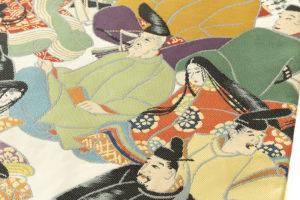 川島織物製 本金箔加良錦袋帯「六歌仙」のサブ3画像